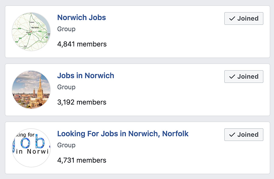 Finding Work on Facebook Jobs